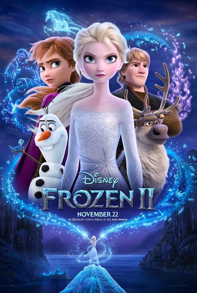 Frozen 2 Poster, Frozen 2 Kid Friendly, Frozen 2 Movie Review
