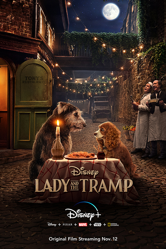 Disney Plus Lady and the Tramp Poster