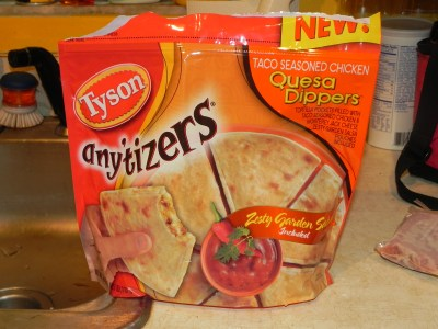 Tyson Any'tizers Quesa Dippers Review and Giveaway