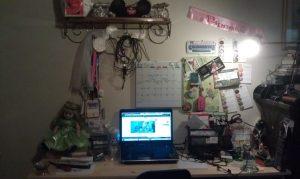 Wordless Wednesday-My Desk