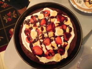 Simple Brownie Pizza Recipe