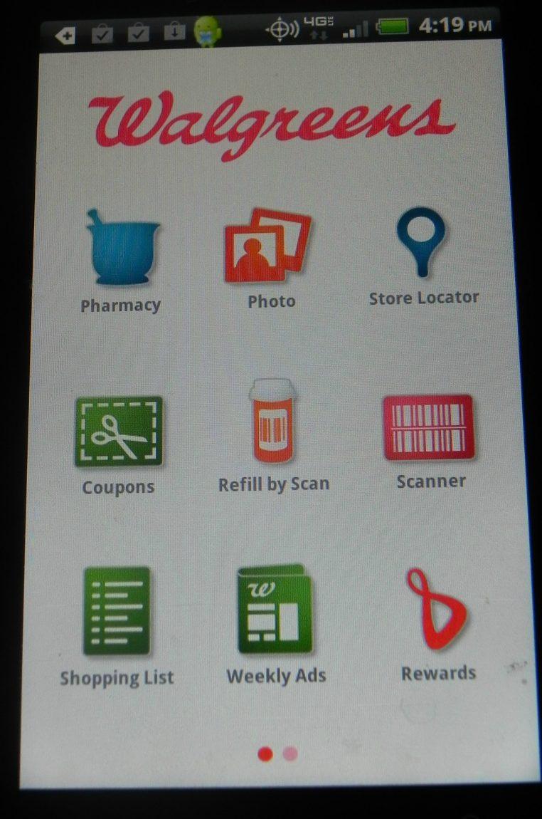 Walgreens app / Vegan morning star