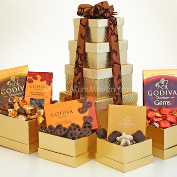 Godiva Chocolate Gems Nutrition