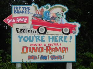 Mouse House Memories: Hester & Chester's Dino-rama