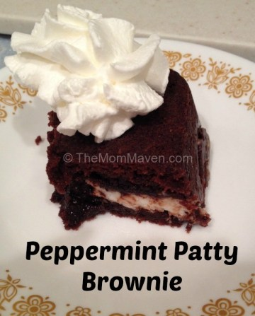 peppermint patty brownie