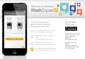Get Laundry Help with the #WhirlpoolWashSquad App