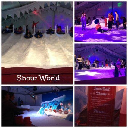 Snow World-Busch Gardens