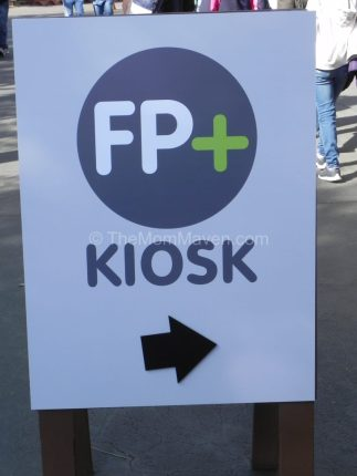 FastPass+ Sign Walt Disney World TheMomMaven.com