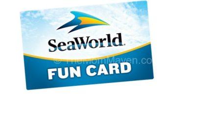 SeawWorld Fun Card