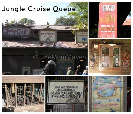 Jungle Cruise Queue Walt Disney World