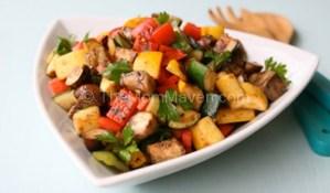 Recipe-Pan Roasted Florida Vegetables