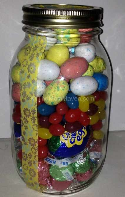 Hershey's Easter Candy Jar