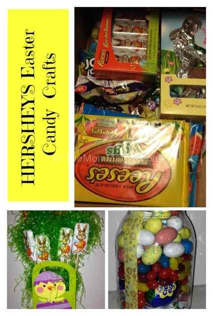 HERSHEY's Easter Candy Crafts