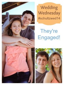 Wedding Wednesday-They're Engaged!