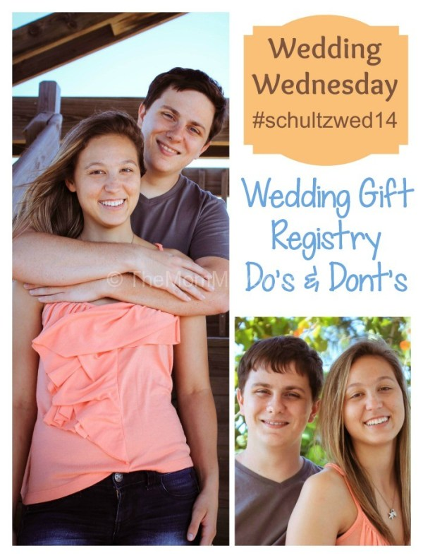 Wedding Wednesday-Wedding Gift Registry do's and dont's-TheMomMaven.com