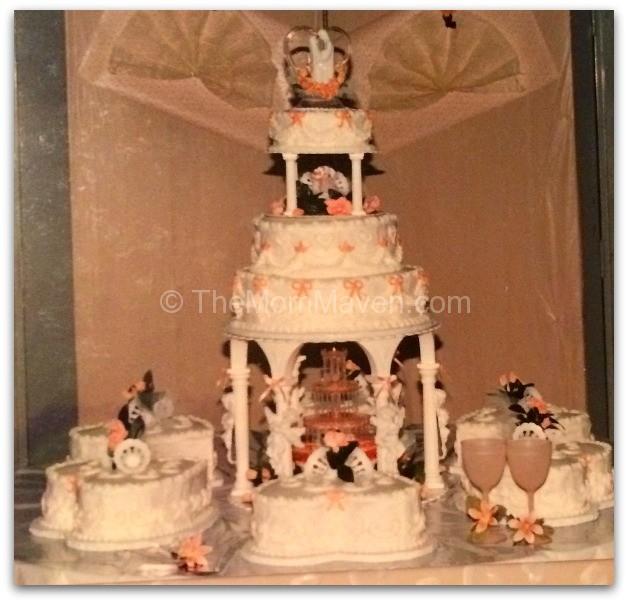 Average Wedding Cake Cost