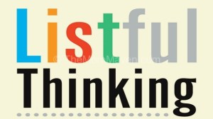 Listful Thinking -Book Review