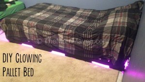 How to Make a Glowing Pallet Bed