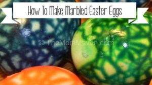 How to Make Marbled Easter Eggs