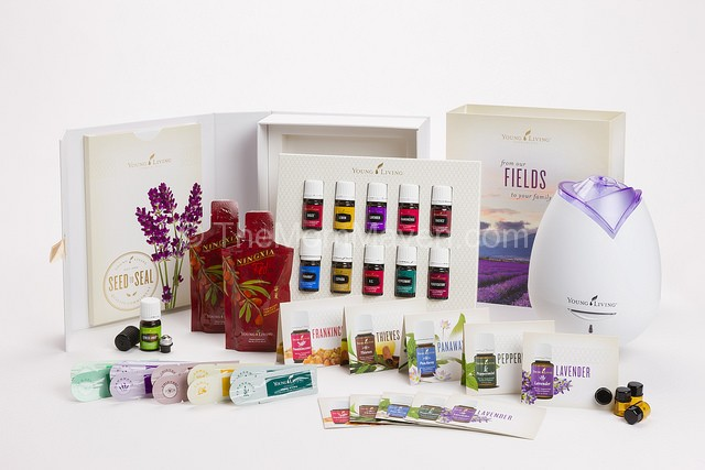 New Young Living Essential oils Premium Starter Kit