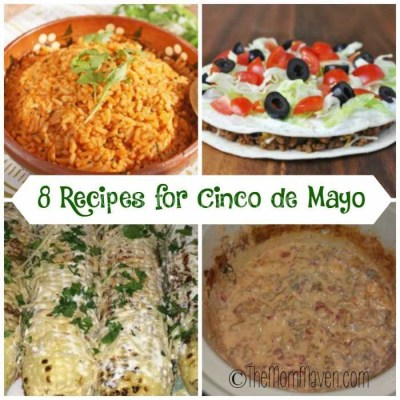 Cinco de Mayo Recipe Round-Up