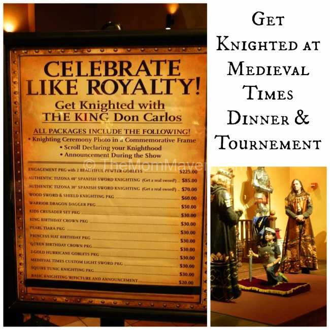 Get Knighted at Medieval Times
