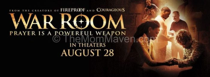 War Room in theaters August 28, 2015