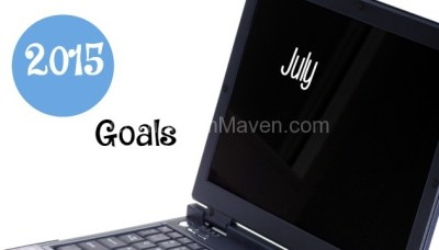 Goals for July 2015