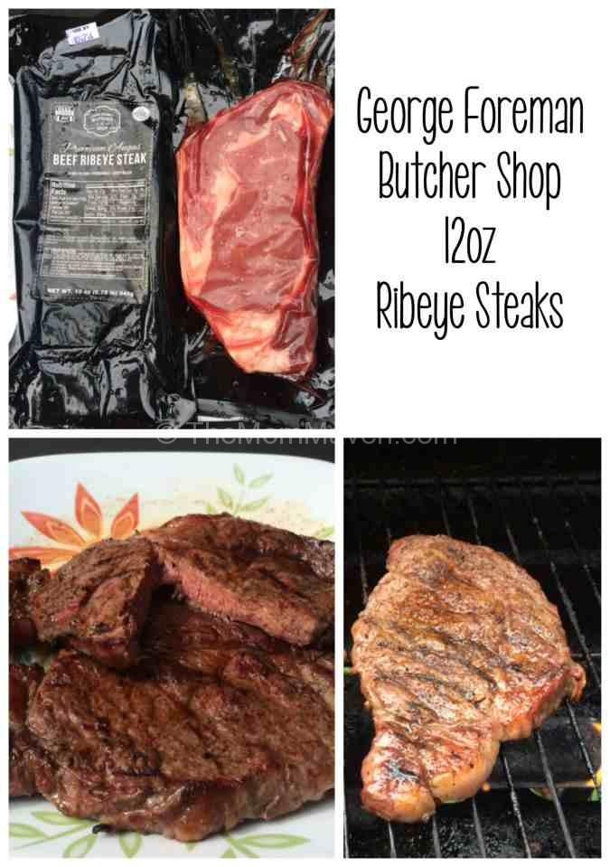 George Foreman Butcher Shop Ribeye Steaks