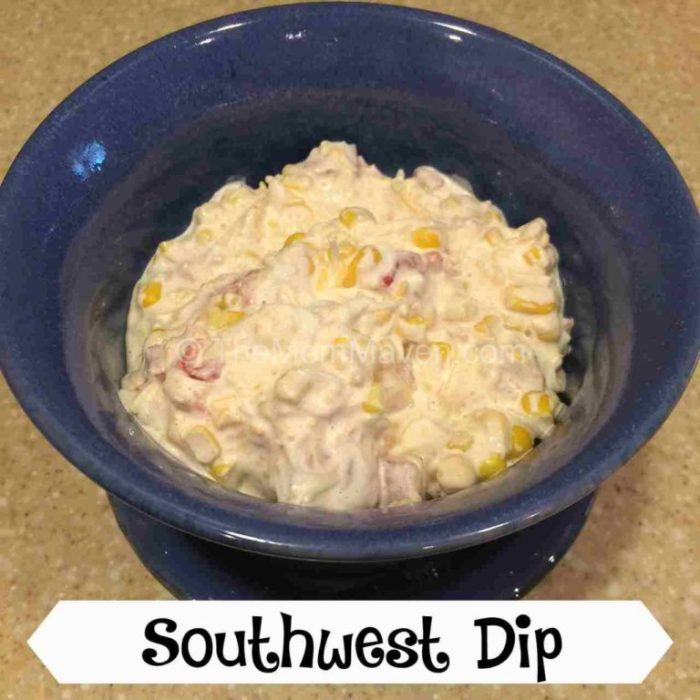 Easy and delicious Southwest Dip recipe.