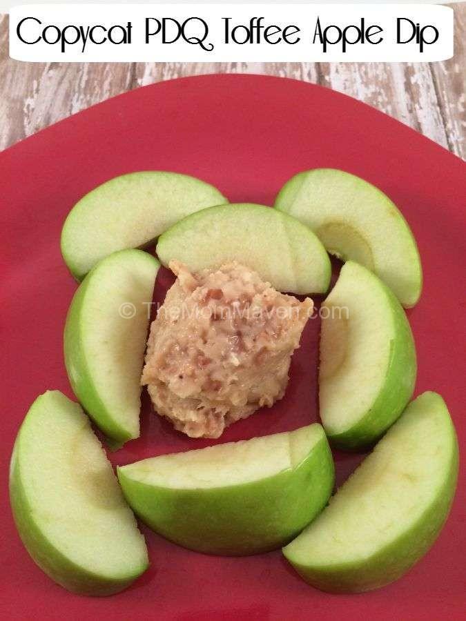 Copycat PDQ Toffee Apple Dip Recipe