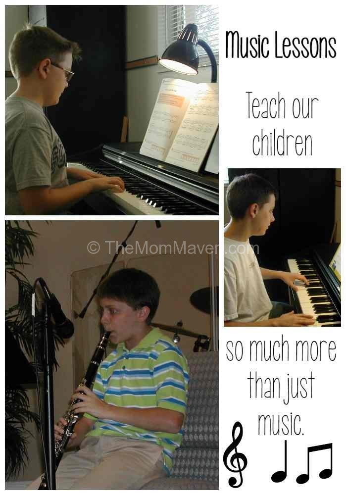 Music Lessons Teach our Children so much more than just music