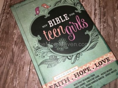 Growing in Faith Hope Love NIV Bible for Teen Girls Review and Giveaway