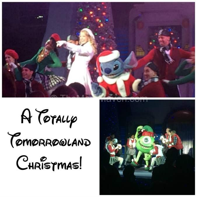 A Totally Tomorrowland Christmas at Mickey's Very Merry Christmas Party