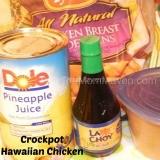 Crockpot Hawaiian Chicken Recipe