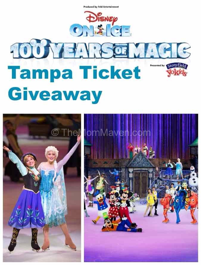 Disney on Ice Tampa Ticket Giveaway