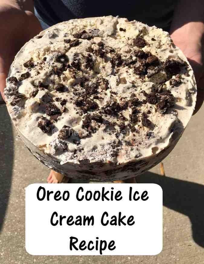 Oreo Ice Cream Bar Cake