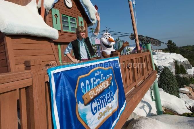 Frozen Summer Games Blizzard Beach Walt Disney World