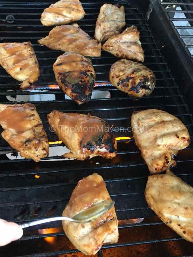 Huli Huli Chicken on the Grill