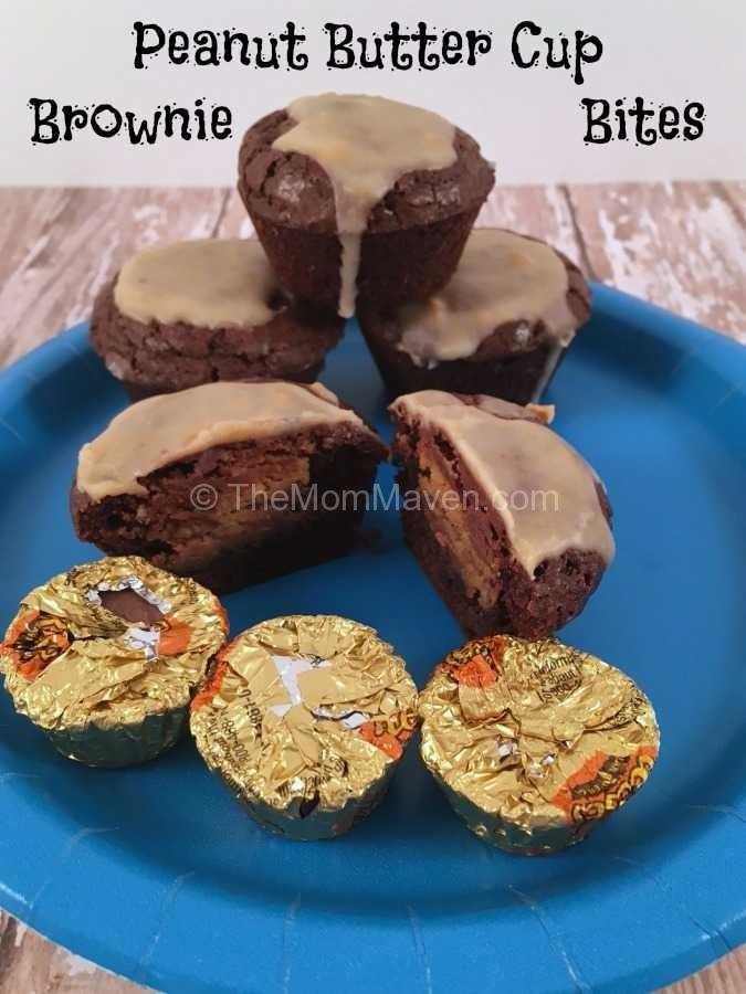 Peanut Butter Cup Brownie Bites Recipe