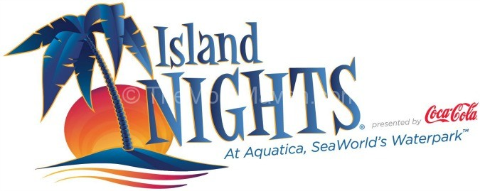 Island Nights at Aquatica SeaWorld's Water park