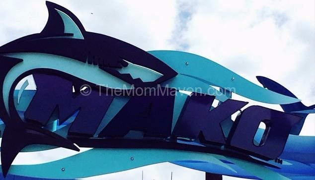 Mako sign SeaWorld