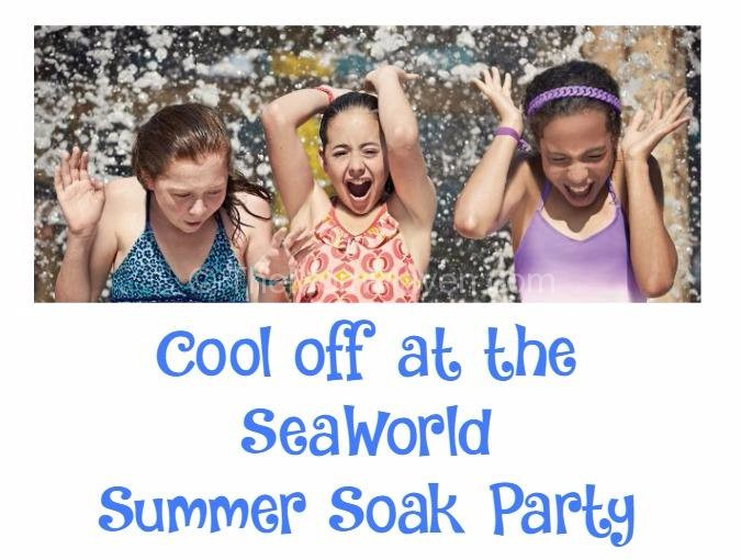 Cool off at the SeaWorld Summer Soak Party
