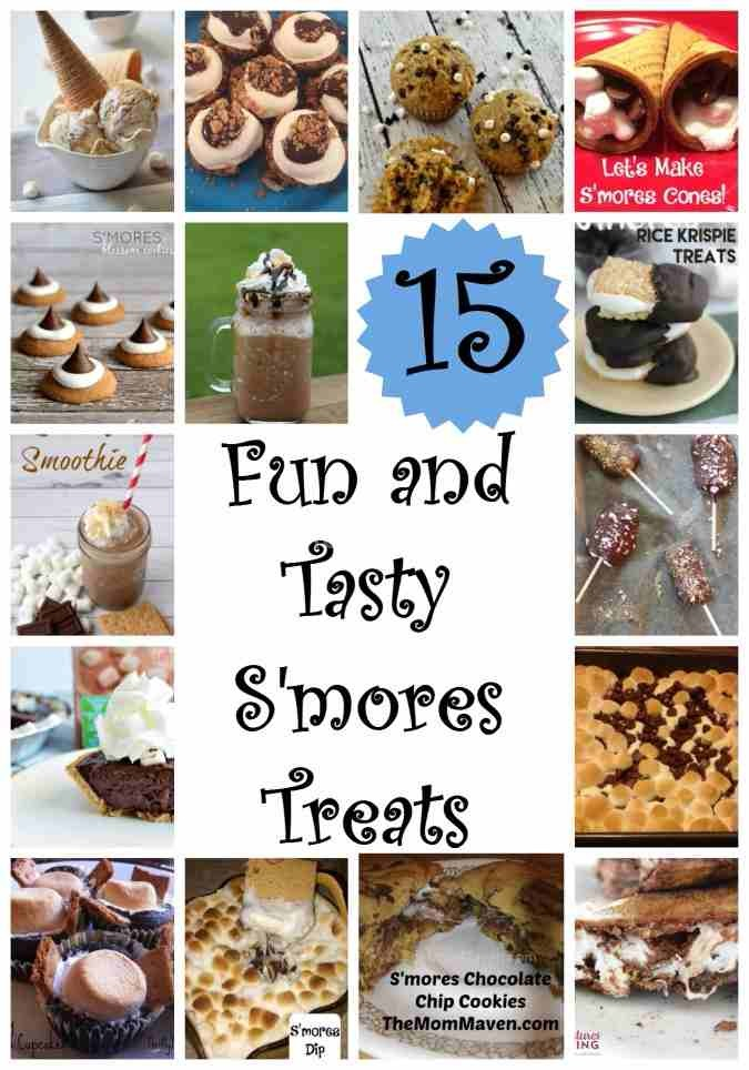 15 Fun And Easy Sewing Projects For Kids: 15 Fun And Tasty S'mores Treats