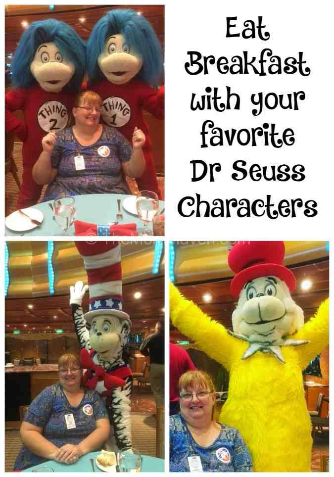 Enjoy the Green Eggs and Ham breakfast on Carnival Cruise Line