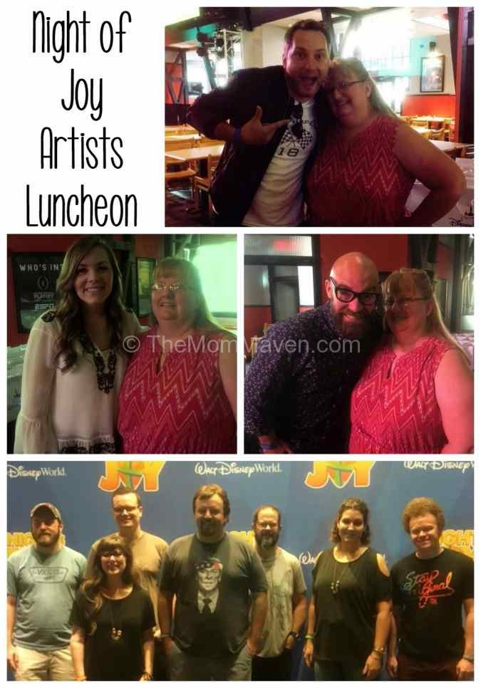 Night of Joy artists luncheon with Hannah Kerr, Brandon Heath, Tim Timmons and Casting Crowns