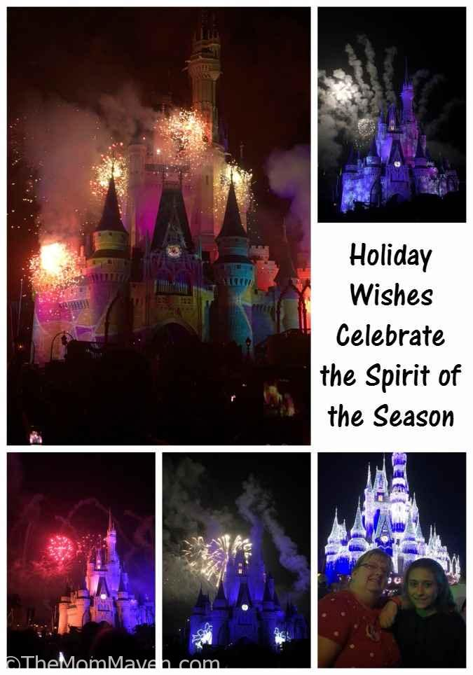 Holiday Wishes-Celebrate the Spirit of the Season Fireworks show at Mickey's Very Merry Christmas Party
