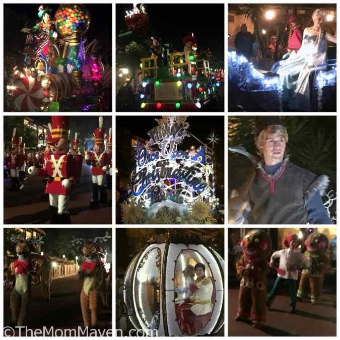 Once Upon a Christmastime Parade at Mickey's Very Merry Christmas Party