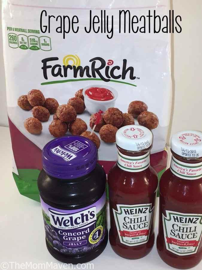 Walt's Balls-Grape Jelly Meatballs top recipe post of 2016
