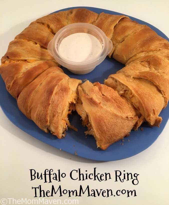 Buffalo Chicken Ring Recept